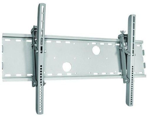Silver Tilt/Tilting Wall Mount Bracket for Toshiba P56QHD LCD HDTV TV/Television