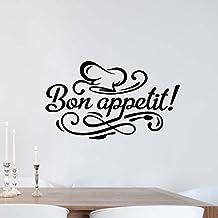 ArtStickers Bon Appetite Kitchen Wall Sticker Vinyl Decal Art Restaurant Pub Decor Cook