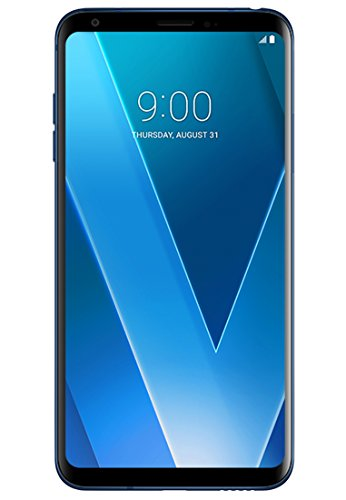 Price comparison product image LG V30+ H930DS 128GB / 4GB Dual Sim Factory Unlocked GSM Smartphone - International Version - No Warranty in the US (Blue)
