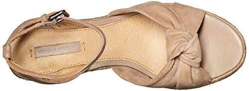 Wedge Twist Sandal FRYE Women Ankle Charlotte 70113 Grey Espadrille ZqnWSXH1
