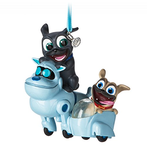 Disney Puppy Dog Pals Sketchbook Ornament (Christmas Ornament Puppy Dog)