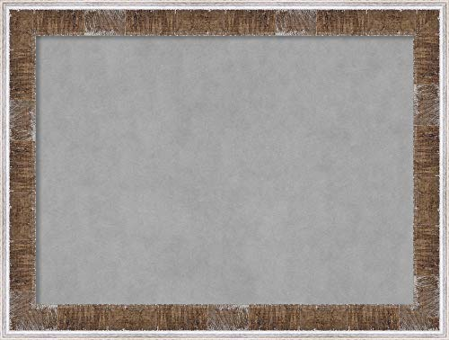 Amanti Art Farmhouse Brown Narrow Framed Magnetic Boards, 33 x 25, by Amanti Art (Image #5)