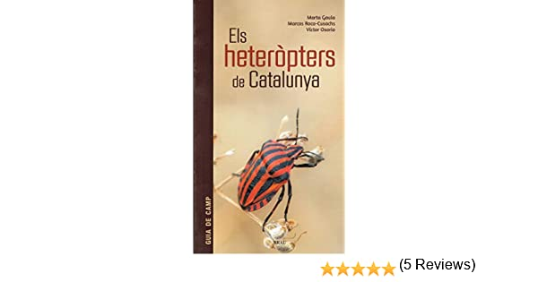 Els heteròpters de Catalunya (Maluquer): Amazon.es: Goula, Marta, Roca-Cusachs, Marcos, Osorio, Víctor: Libros