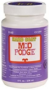 Mod Podge Hard Coat for Furniture, 8-Ounce (CS11245)