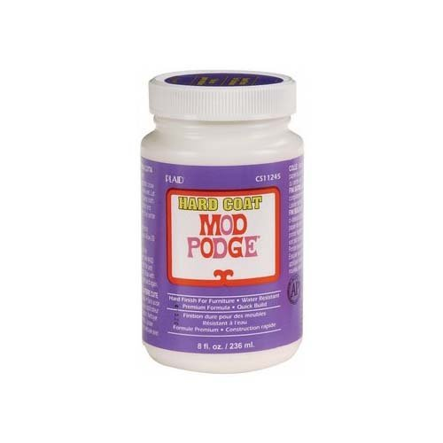 (Mod Podge Hard Coat for Furniture, 8-Ounce (CS11245))