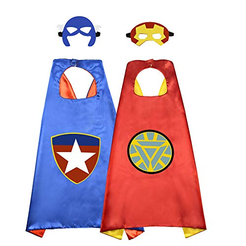 ROKO Superhero Capes For Kids Kids Superhero Capes For Kids Kids Toys For Boys Superhero Capes 10 Year Old Boy Gifts Superhero Party Supplies Superhero Party Supplieschristmas xmas stocking stuffers s