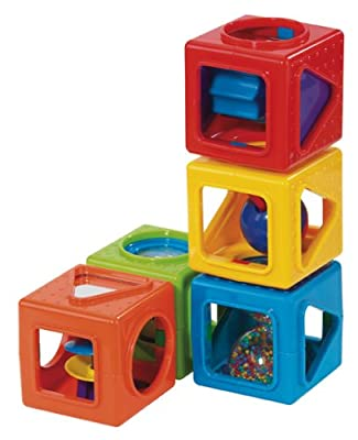 Earlyears Stacking Activity Cubes from Earlyears