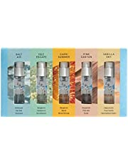 Perfume Discovery Set By Skylar - 5 Signature Fragrances in 1 Convenient Travel-Sized Discovery Kit - Clean, Hypoallergenic, Safe for Sensitive Skin, Vegan (5 x 1.5 mL / 0.05 Fl oz)