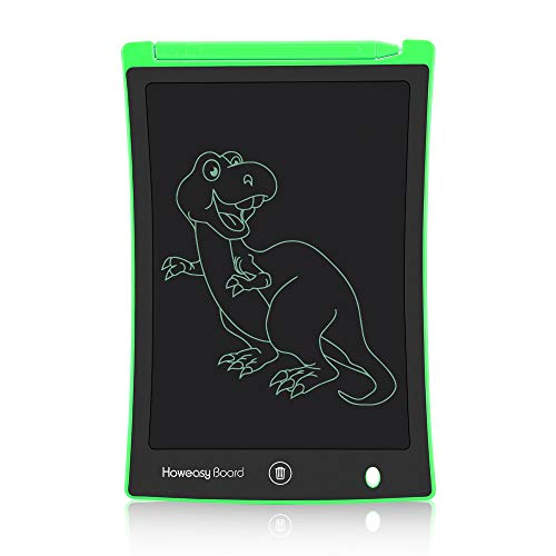 Howeasy Board LCD Writing Tablet, 8.5 Inch Learning Educational Toys Electronic Drawing and Writing Board for Kids & Adults, Handwriting Paper Doodle Pad for School and Office (Green)