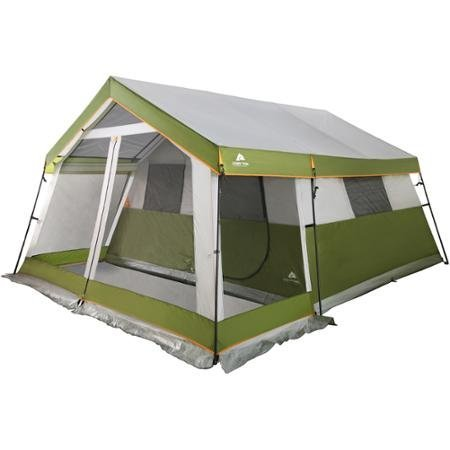 Ozark Trail 8-Person 7' Center Height Family Cabin Tent with Screen Porch WF-151284P by Ozark Trail