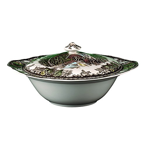 Johnson Brothers Friendly Village Covered Vegetable (Covered Wedgwood Dish China Vegetable)