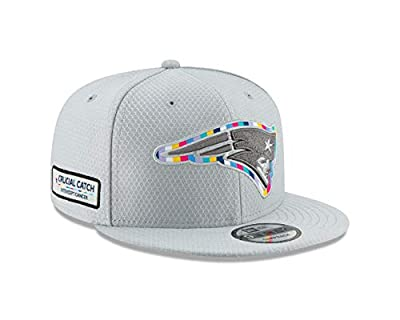 New Era New England Patriots Crucial Catch 9FIFTY Snapback Adjustable Hat – Gray