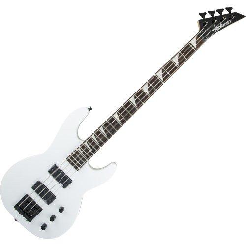 Jackson JS2 JS Series Concert Electric Bass Guitar Snow White (Passive Electric Bass)