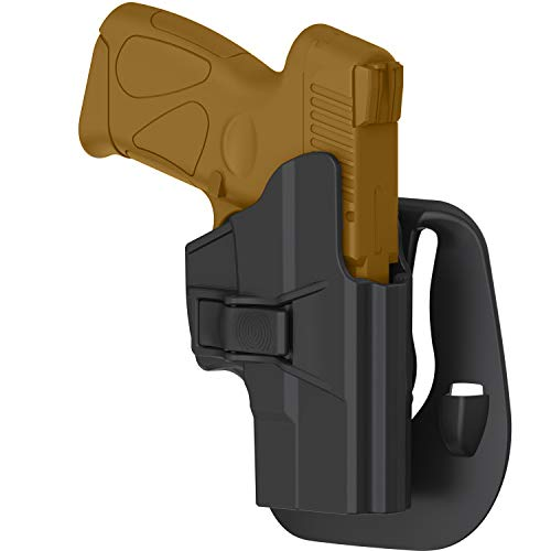 efluky Taurus PT111 G2 G2C Holster, Polymer Tactical OWB