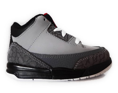 f7497a5a5d0 NIKE AIR JORDAN 3 RETRO (TD) TODDLER 832033-003 (7, STEALTH / VARSITY RED -  RT GLPHT - BLACK) - Buy Online in Oman. | Shoes Products in Oman - See  Prices, ...