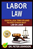 LABOR LAW: Essential Legal Terms Explained You Need To Know About Law On