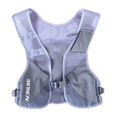 XUSHSHBA Men Women Lightweight Running Backpack Outdoor Sports Trail Racing Marathon Hiking Fitness Bag Hydration Vest