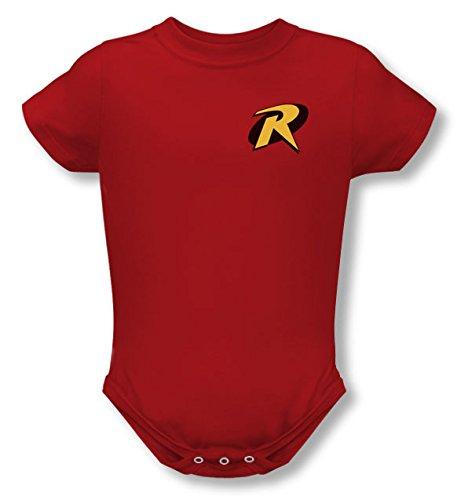 Infant: Batman - Robin Logo Onesie T-Shirt 1 x 1in ()