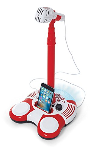 Kidoozie Sing Along Microphone Toy – Plays Music from