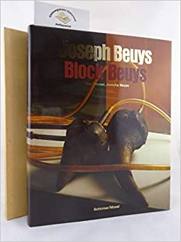 joseph beuys block beuys german and english edition
