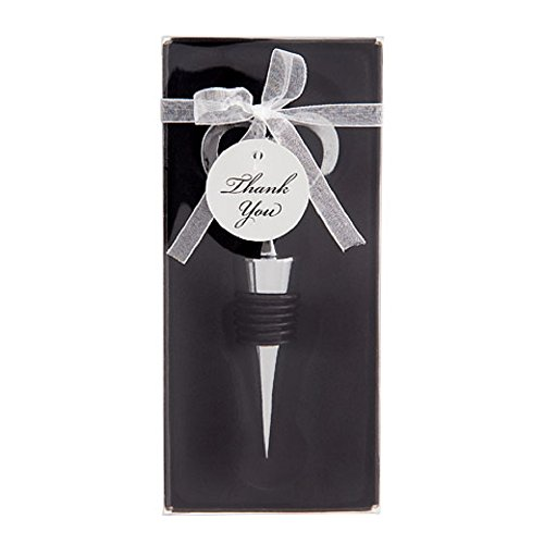 Darice Cut Out Heart Wine Stopper - Silver - 4-1/2 inches