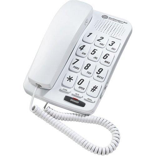 SOUTHWESTERN BELL FM-484WW Big Button Speaker Phone by Southwestern Bell