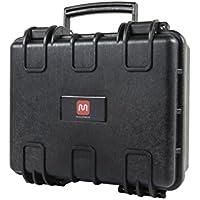 Monoprice Weatherproof Hard Case with Customizable Foam, 13 x 12 x 6