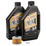 Tusk 4-Stroke Oil Change Kit Maxima Synthetic Blend 10W-40 - Fits: Honda CRF250L 2013-2016