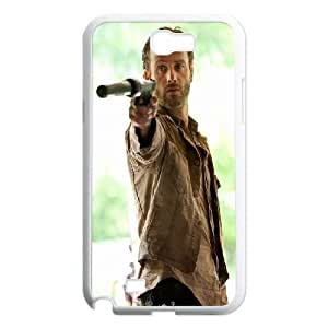 Funny Andrew Lincoln Samsung Galaxy N2 7100 Cell Phone Case White Cool Witty Humor Maverick CYGJ6315804169
