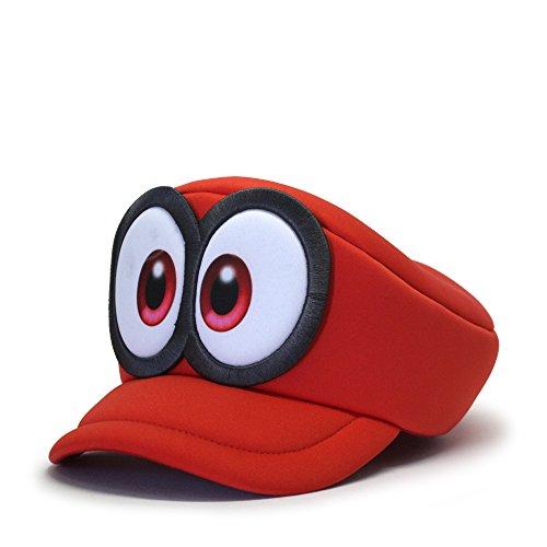 (Nintendo Super Mario Rubber Sonic Weld Snapback Baseball Cap)