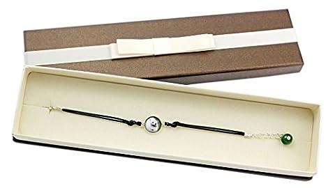 Samoyed, Bracelet with box for people who love dogs, photo jewelry, Handmade - Samoyed Jewelry