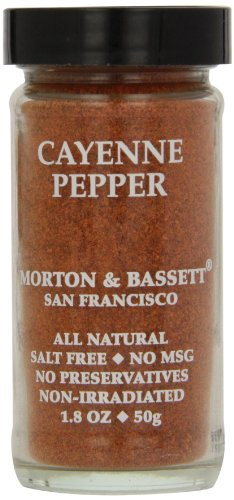 - Morton & Basset Spices, Cayenne Pepper, 1.8 Ounce (Pack of 3)