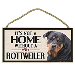 Imagine This Wood Sign for Rottweiler Dog Breeds 10