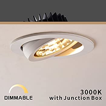 Obsess 12w 4 led recessed kitchen ceiling light downlight spotlight obsess 4 led recessed downlight with junction box 12w dimmable led ceiling light aloadofball Image collections