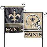 Stockdale New Orleans Saints WC Garden Flag Premium 2-Sided Outdoor House Banner Football