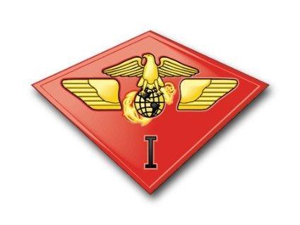 Vinyl USA US Marine 1st Marine Air Wing Decal Sticker 5.5
