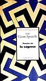 Pensées sur la sagesse par Comte-Sponville