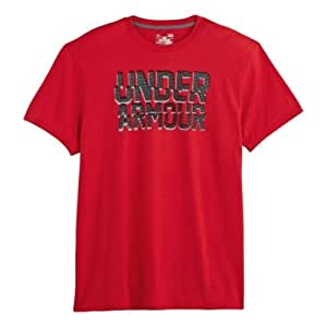 Under Armour Men's UA Cut Up T-Shirt Large Red