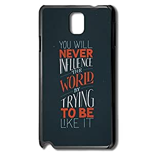 Samsung Note 3 Cases Influence World Design Hard Back Cover Cases Desgined By RRG2G