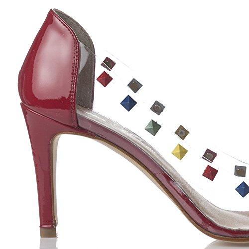 Laura Moretti Stilettos - De salón Mujer Rojo