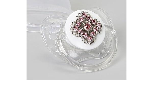 Crystal Dream Blingy Rosa Cristales de Swarovski Chupete ...