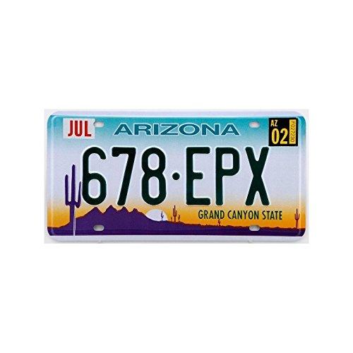 Nummernschild, US-amerikanisch / USA, Arizona Grand Canyon State