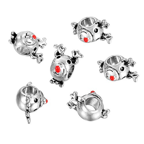 HOUSWEETY Christmas Bracelet Silver 15x12mm