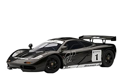 1/18 McLaren F1 Stealth Model 1/18 Scale Helmet Included Special Package  Contains