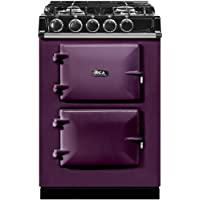 AGA ATC2DFAUB 24 Freestanding Dual Fuel Range with 4.9 cu. ft. Oven Capacity 4 Sealed Burners Roasting Oven Slow Cook Oven 3 Pre-set Temperature Settings and 1 Work Burner in