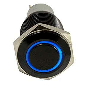41NTR1sOA7L._SY300_ amazon com e support™ 16mm 12v 3a car blue led light angel  at edmiracle.co