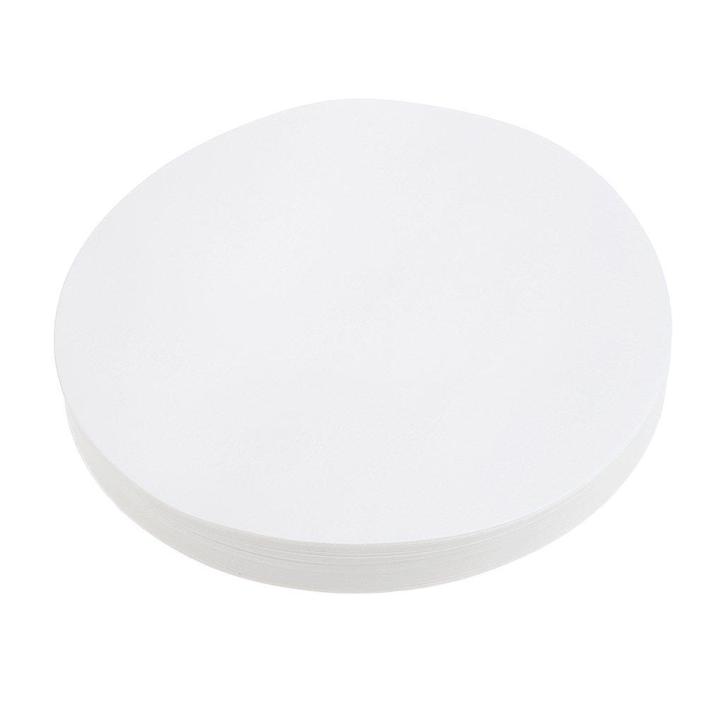 Homyl 100x Cercles Lab Disques Filtres de Laboratoire 30um - 50um Papier Quantitatifs Rapides