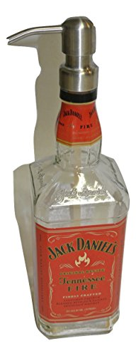 Jack Daniels Fire Whiskey Liquor Bottle Repurposed for sale  Delivered anywhere in USA