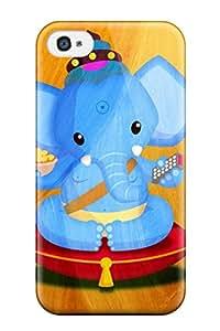 YnJOkJL2631ZrqfJ ZippyDoritEduard Awesome Case Cover Compatible With Iphone 4/4s - Elephant