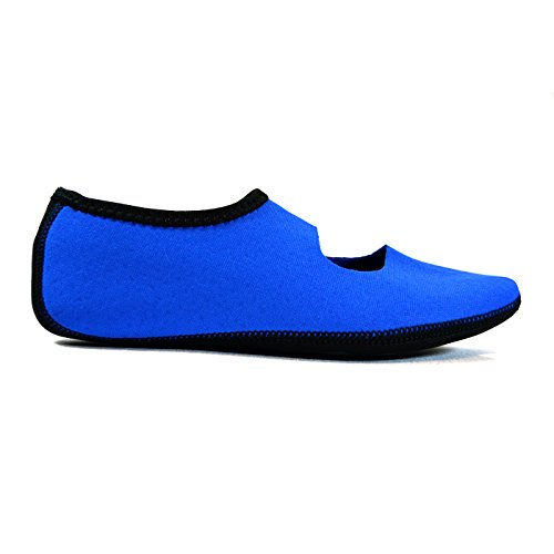 Nufoot Shoes Indoor Socks Blue Flats Travel Foldable Exercise Slippers Flexible Shoes Best Yoga Shoes Dance amp; Shoes Mary Royal Women's amp; Janes qTwaT1rt